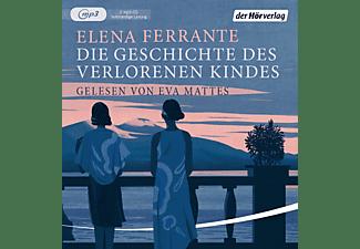 Eva Mattes - Die Geschichte Des Verlorenen Kindes (4)  - (CD)
