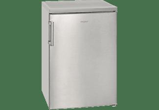 EXQUISIT KS 16-1 A+++ Kühlschrank (94 kWh/Jahr, A+++, 845 mm hoch, Edelstahl)