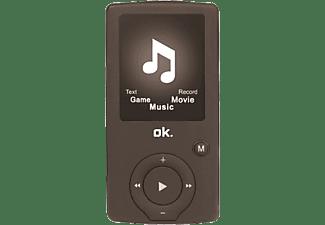 OK MP4-speler 8 GB Zwart
