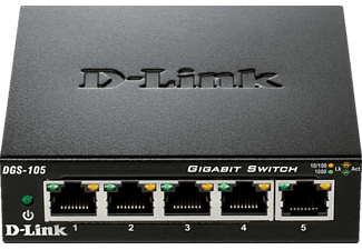 D-LINK DGS-105/E  Desktop Switch 5