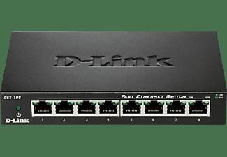 D-LINK DES-108/E  Desktop Switch 8