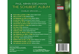 Edelmann,Paul Armin/Spencer,Charles - The Schubert Album  - (CD)