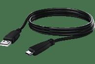 HAMA USB-A Ladekabel, Schwarz