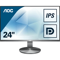 AOC I2490VXQ/BT 23.8 Zoll Full-HD Office Monitor (4 ms Reaktionszeit, 60 Hz)