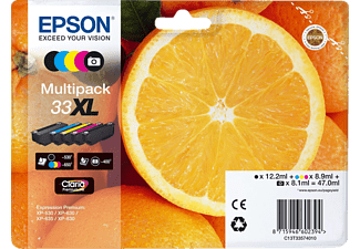 EPSON Original Tintenpatrone Mehrfarbig (C13T33574011)