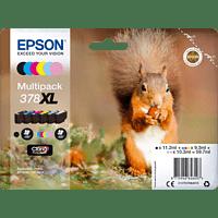EPSON Original Tintenpatrone Eichhörnchen mehrfarbig (C13T37984010)