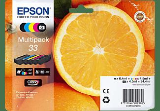 EPSON Original Tintenpatrone Mehrfarbig (C13T33374011)