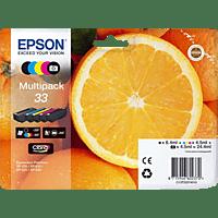 EPSON Original Tintenpatrone Orange Mehrfarbig (C13T33374011)