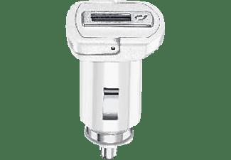 CELLULAR LINE Adaptive Fast Car Charger 15 Watt Kfz Ladegerät Samsung, Weiß