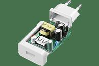 CELLULAR LINE Adaptive Fast Charger Kit 15 Watt Ladegerät, Weiß