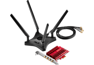 ASUS PCE-AC88 AC3100 WLAN PCIe-Karte WLAN-PCIe-Karte