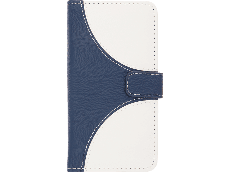 V-DESIGN NFC 137 , Bookcover, Apple, iPhone 8/7, Kunstleder, Blau/Weiß