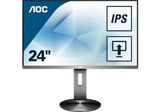 AOC I2490PXQU/BT 23,8 Zoll Full-HD Office Monitor (4 ms Reaktionszeit, 60 Hz)