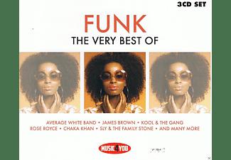 VARIOUS - The Very Best Of Funk (3CD)  - (CD)