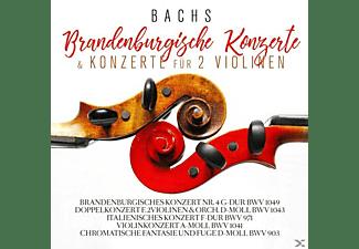 Musici Di San Marco, Christiane Jaccottet, Philharmonisches Orchester Bamberg - Bachs Brandenburgische Konzerte & Konzerte Für 2 Violinen  - (CD)