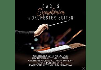 Johann Sebastian Bach, Philharmonia Slavonica, Christiane Jaccottet, Camerata Romana - Bachs Symphonien und Orchestersuiten  - (CD)