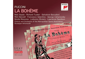 Richard Tucker, Chor & Orchester Met Opera Association, Bidu Sayao - La bohème  - (CD)