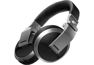 PIONEER DJ Kopfhörer HDJ-X5 Over-Ear-DJ-Kopfhörer, silber