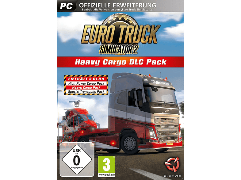 Euro Truck Simulator 2 (Heavy Cargo DLC Pack) [PC]