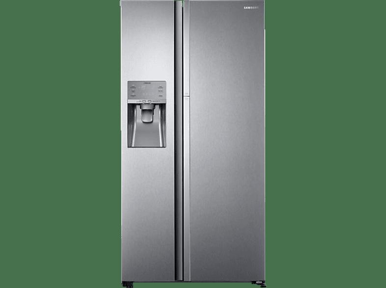 SAMSUNG RH5FK6698SL/EG  Side-by-Side (361 kWh/Jahr, A++, 1825 mm hoch, Edelstahl)