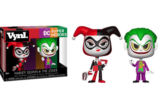 FUNKO UK POP! DC: Harley & Joker ltd. Vinylfigur, Mehrfarbig