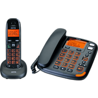 SWITEL Vita DCT50072 Combo Schnurgebundenes Telefon mit Mobilteil