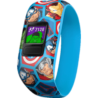 GARMIN VIVOFIT JR 2 MARVEL AVENGERS, Fitnesstracker, 130-175 mm, Blau/Bunt