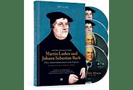 Martin Luther und Johann Sebastian Bach (Buch + 4 CDs)