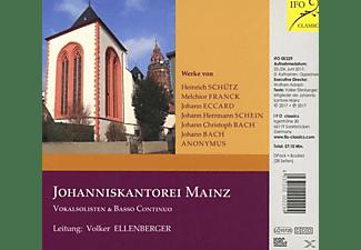 Volker Johanniskantorei Mainz/ellenberger - Chorwerke der 17.Jahrhunderts  - (CD)