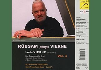 Rübsam Wolfgang - Organ Works Vol.3  - (CD)