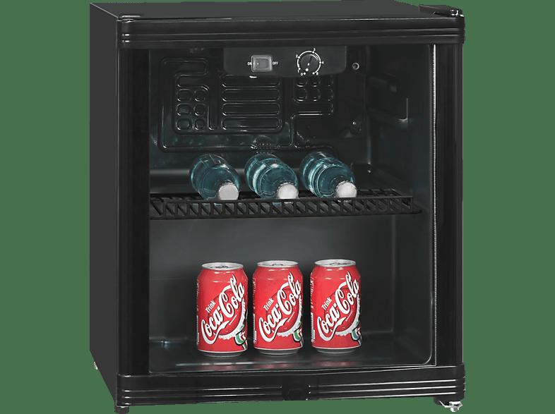EXQUISIT KB 01-4.2G Gewerbekühlbox (139 kWh/Jahr, -, 510 mm hoch, Schwarz)