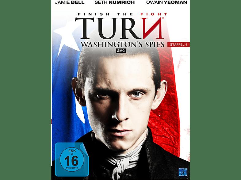 Turn Washington´s Spies - Staffel 4 [DVD]