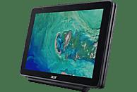 ACER One 10 (S1003-19D8), Convertible mit 10.1 Zoll Display, Atom® Prozessor, 4 GB RAM, 64 GB eMMC, HD-Grafik 400, Anthrazit (Aluminium A-Cover)