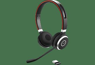 JABRA PC-HS Evolve 65 UC BT UC Stereo SW, On-ear Headset Bluetooth Schwarz