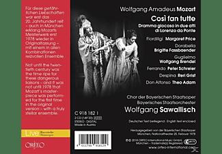 Price/Fassbaender/Brendel/Schreier/Sawallisch/+ - Cosi fan tutte  - (CD)