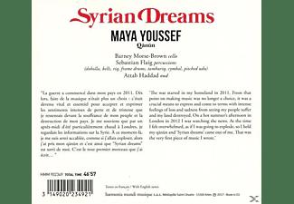 Maya Youssef - Syrian Dream  - (CD)