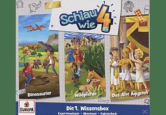 Schlau Wie Vier - 01/3er Wissens-Box (Folgen 1/2/3)  - (CD)