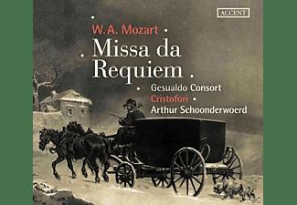 Arthur Schoonderwoerd, Gesualdo Consort Amsterdam, Ensemble Cristofori - Missa da Requiem KV 626  - (CD)