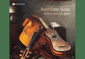 Hoppstock Tilman - Cellosuiten bearbeitet für Gitarre  - (CD)