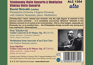 David Oistrakh, Eugene Ormandy, Vladimir Yampolsky, The Philadelphia Orchestra - Violinkonzerte  - (CD)