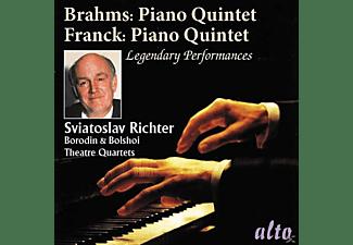 Sviatoslav Richter, Bolshoi Theatre Quartet, Borodin Quartet - Klavierquintette  - (CD)