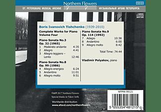 Vladimir Polyakov - Die Werke für Klavier Vol.4  - (CD)