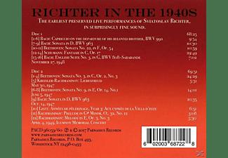 Sviatoslav Richter - Richter in the 1940s  - (CD)
