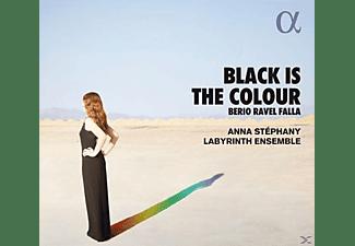 Anna Stéphany (mezzosopran) - Labyrinth Ensemble - Black is the Colour  - (CD)