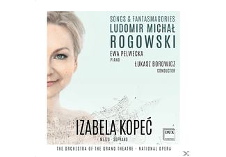 Izabela Kopeć, Ewa Pelwecka, The Orchestra of the Grand Theatre - National Opera of Warsaw - Songs & Fantasmagories  - (CD)