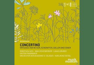 Seel/Siessl/Orchester der Akademie St.Blasien - Concertino-Virtuoses von Netzer,Schgraffer,Go  - (CD)