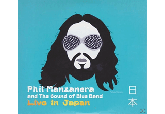 Phil & The Sound Of Blue Band Manzanera - Live In Japan  - (CD)