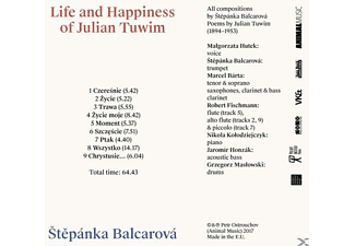 Tuwim Julian - Life and Happiness of Julian Tuwim  - (CD)