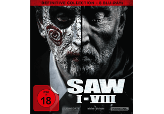 SAW I-VIII / Definitive Collection Blu-ray