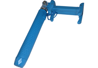 M-LINE Selfie Stick Pocket mit Auslöseknopf Universal, blau (HPOCKETSELFIE)